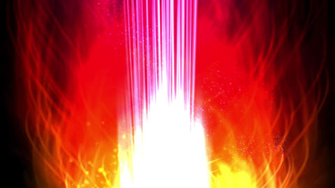 Magic candles flames,Explosion flame burn,hot particle fireworks Animation