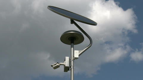 Solar Panel Light and Street View Camera 1 ビデオ