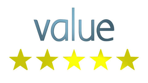 Five Star Value stock footage