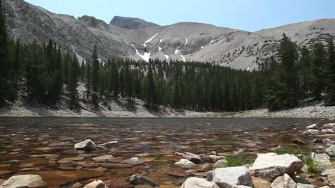 Great Basin National Park lake Footage