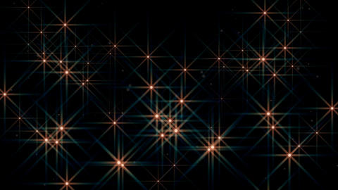Particle Stars 1 stock footage