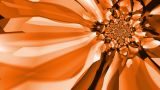Kaleidoscopic Orange And Brown Colours stock footage