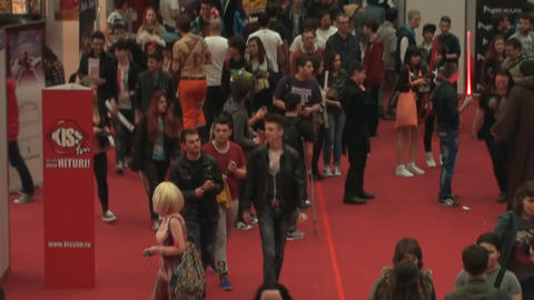 Bucharest, May The 10th, East European Comic Con,  stock footage