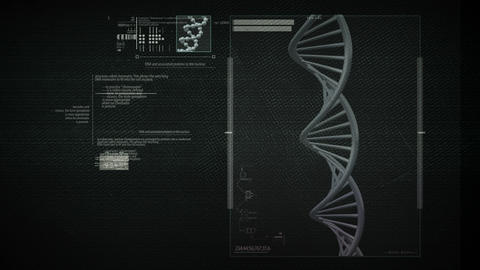 DNA Science Search Loop Footage