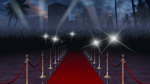 Red Carpet with Audio Animation