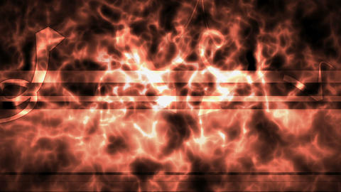 Fiery Background With Arrows Showing The Title Place stock footage