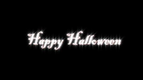 Title Of Halloween stock footage