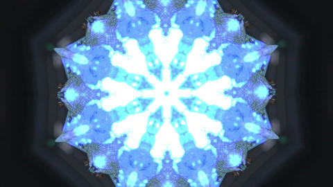 blue background vj loop Animation