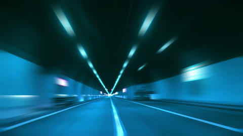 4 K Tunnel Abstract Speed 12 stock footage