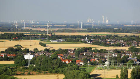 West German Energy Landscape Timelapse ビデオ