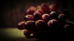 Close Up Bunch Of Grapes HD Stock Footage stock footage
