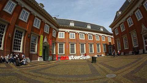 The Amsterdam Museum Netherlands Full HD Footage