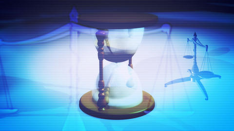 Time Justice Looping Background Animation