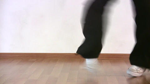 Dancing Legs stock footage