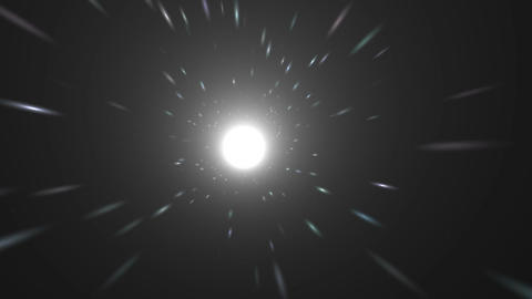 Flight Of The White Hole stock footage