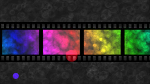 Movie Film Particle Background Animation - Loop Ra stock footage