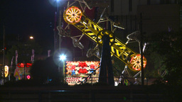 HD2008-7-2-19 Midway Night The Zipper stock footage