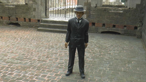 Jose Rizal Statue fort santiago cell Footage