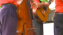 HD2009-4-4-4 Cuba Music Band stock footage