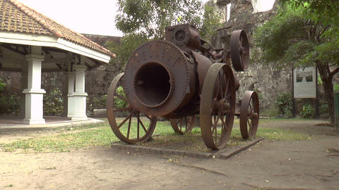 Steam Engine Front stock footage