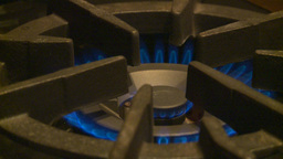 HD2009-1-9-3 Stove Gas Flame stock footage