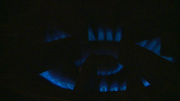 HD2009-1-9-4 Stove Gas Flame stock footage