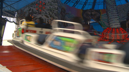 HD2009-7-3-31 Midway Snoexpress Ride stock footage