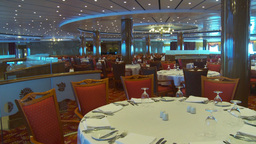 HD2009-11-9-2 Empty Dining Rm stock footage