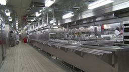 HD2009-11-9-3 Stainless Steel Kitchen #1 stock footage