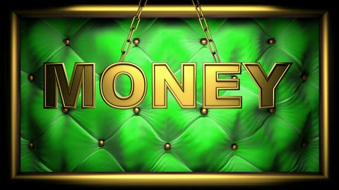 Money Green stock footage