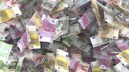 Euro Transition stock footage