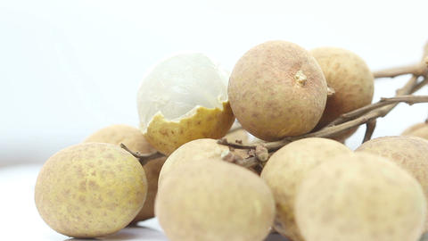Delicious Ripe Longan, Loopable stock footage