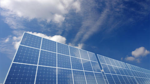 Solar Panel A1C HD stock footage