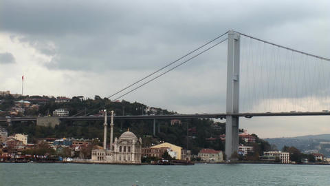bosphorus bridge Footage