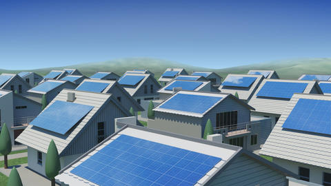 solar Panel Jb3 HD Animation