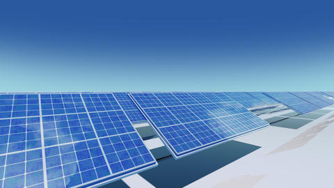 Solar Panel Ca2 HD Animation