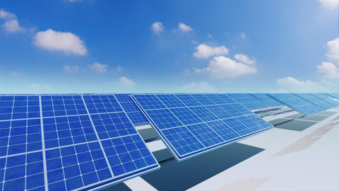 Solar Panel Ca3 HD Animation