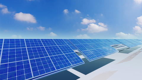Solar Panel Ca5 HD Animation