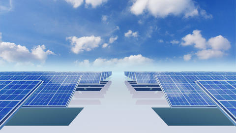 Solar Panel Cb3 HD Animation