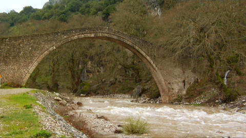 Stone Bridge stock footage