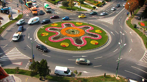Roundabout Summer stock footage