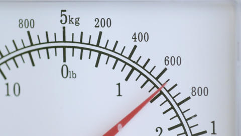 Food Weighing Scales stock footage
