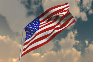 Flag Of America FREE THIS WEEK stock footage
