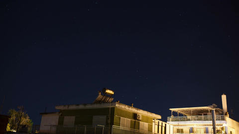 Timelapse of starry sky Footage
