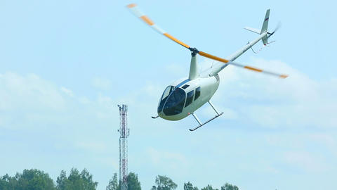 Helicopter aerobatics Footage
