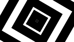 Squares Concentric BnW Footage