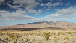 Mountain Range In Death Valley, California stock footage