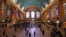 Grand Central NY 002 stock footage