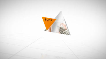 Corporate Timeline stock footage