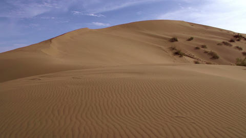 Landscape With Dunes stock footage